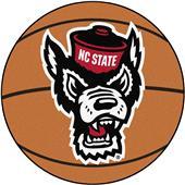 Fan Mats NCAA NC State Basketball Mat