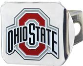 Fan Mats NCAA Ohio State Chrome/Color Hitch Cover