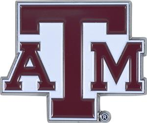 Fan Mats NCAA Texas A&M Colored Vehicle Emblem