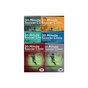 30-Minute Soccer Clinic - Complete Set (6 DVDs)