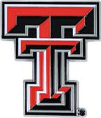 Fan Mats NCAA Texas Tech Colored Vehicle Emblem