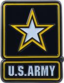 Fan Mats US Army Colored Vehicle Emblem