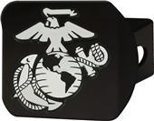 Fan Mats U.S. Marines Black/Color Hitch Cover