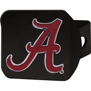 Fan Mats NCAA Alabama Black/Color Hitch Cover