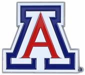 Fan Mats NCAA Arizona Colored Vehicle Emblem