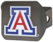 Fan Mats NCAA Arizona Black/Color Hitch Cover
