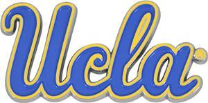 Fan Mats NCAA UCLA Colored Vehicle Emblem