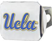 Fan Mats NCAA UCLA Chrome/Color Hitch Cover