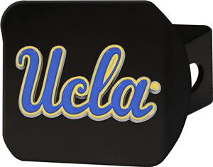 Fan Mats NCAA UCLA Black/Color Hitch Cover