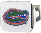 Fan Mats NCAA Florida Chrome/Color Hitch Cover