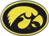 Fan Mats NCAA Iowa Colored Vehicle Emblem