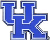 Fan Mats NCAA Kentucky Colored Vehicle Emblem