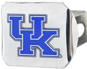 Fan Mats NCAA Kentucky Chrome/Color Hitch Cover