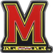 Fan Mats NCAA Maryland Colored Vehicle Emblem