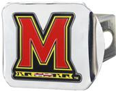 Fan Mats NCAA Maryland Chrome/Color Hitch Cover
