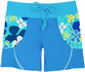 Tuga Swimwear Girls Retro Swirls Swim Shorts