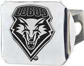 Fan Mats NCAA New Mexico Chrome Hitch Cover