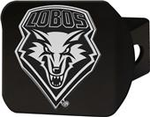 Fan Mats NCAA New Mexico Black Hitch Cover
