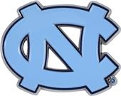 Fan Mats NCAA UNC Colored Vehicle Emblem