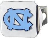 Fan Mats NCAA UNC Chrome/Color Hitch Cover