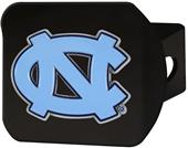 Fan Mats NCAA UNC Black/Color Hitch Cover