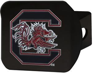 Fan Mats NCAA S. Carolina Black/Color Hitch Cover