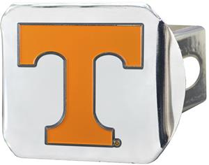Fan Mats NCAA Tennessee Chrome/Color Hitch Cover