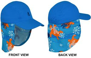 Tuga Boys Neck Flap Sun Hat