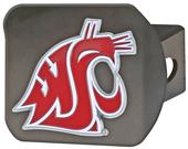 Fan Mat NCAA Washington St Black/Color Hitch Cover