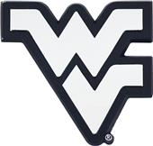 Fan Mats NCAA West Virginia Chrome Vehicle Emblem