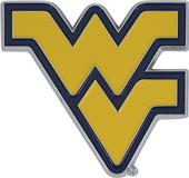 Fan Mats NCAA West Virginia Colored Vehicle Emblem
