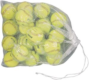 Drawstring Mesh Bags With Tab Close