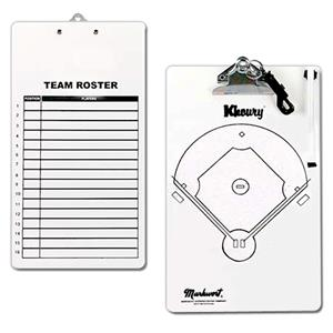 Markwort Dry-Erase TeamRoster Clipboards