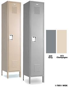 Vanguard Steel Single Gym Lockers