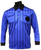 Official Soccer Referee Jerseys  LONG Sleeve-ROYAL