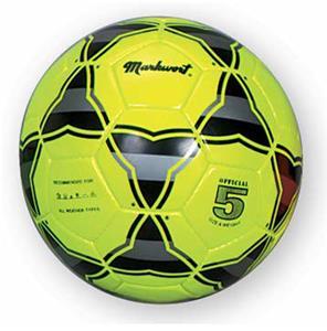 Markwort Triangular Neon Synthetic Soccer Balls
