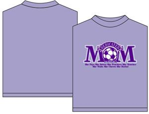 Utopia Dedicated Mom Soccer Short Sleeve T-Shirt