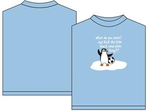 Utopia Soccer Penguin T-shirt