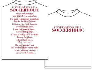 Utopia Soccerholic Girls Short Sleeve T-shirt
