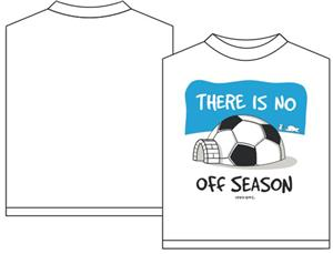 Utopia Soccer No Off Season T-shirt