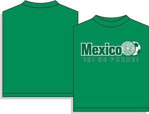 Mexico Aztec soccer tshirt gift