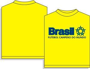 Brazil Champions soccer tshirt gift