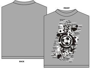 Soccer Grunge soccer tshirt gift