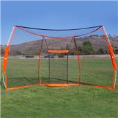 Bownet 9.5'x17.5' Portable Baseball Backstop