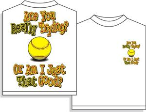 Utopia Softball Are you trying? Tshirt