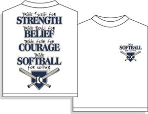 Trade Softball tshirt gift
