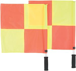 Markwort Referee Linesman Flags - Checkered