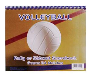 Glover's Volleyball Scorebooks