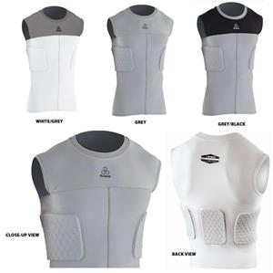 HexPad Sleeveless 3-Pad Rib Body Sports Shirts