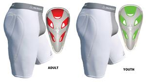 Adult Youth Girdle Baseball Sliding Short with Cup